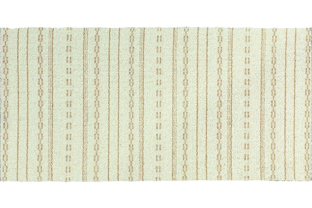Matta Mix Asta 170x260 PVC/Bomull/Polyester Vit - Horredsmattan - Inredning - Mattor - Trasmattor