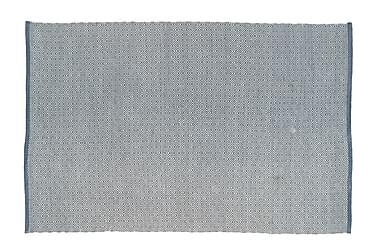 Matta Rättvik 60x90 Ljusblå
