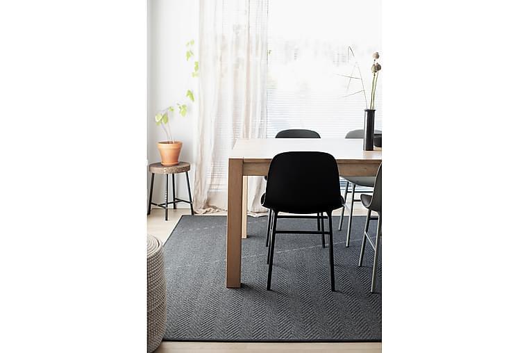 Matta Elsa 160x230 cm Svart - VM Carpets - Inredning - Mattor - Ullmatta