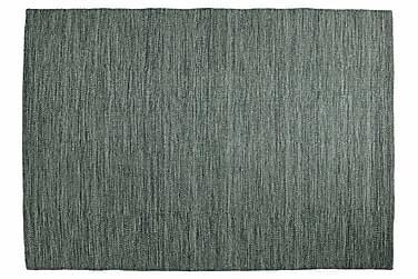 Ullmatta Eden Handvävd 160x160  Olivgrön