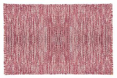 Ullmatta Eden Handvävd 160x230  Rosa