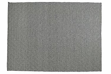 Ullmatta Orissa Handvävd 160x230  Olivgrön