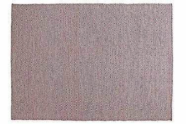 Ullmatta Orissa Handvävd 160x230  Rosa
