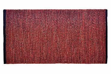 Ullmatta Seattle Handvävd 200x200  Röd