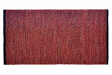 Ullmatta Seattle Handvävd 200x290  Röd