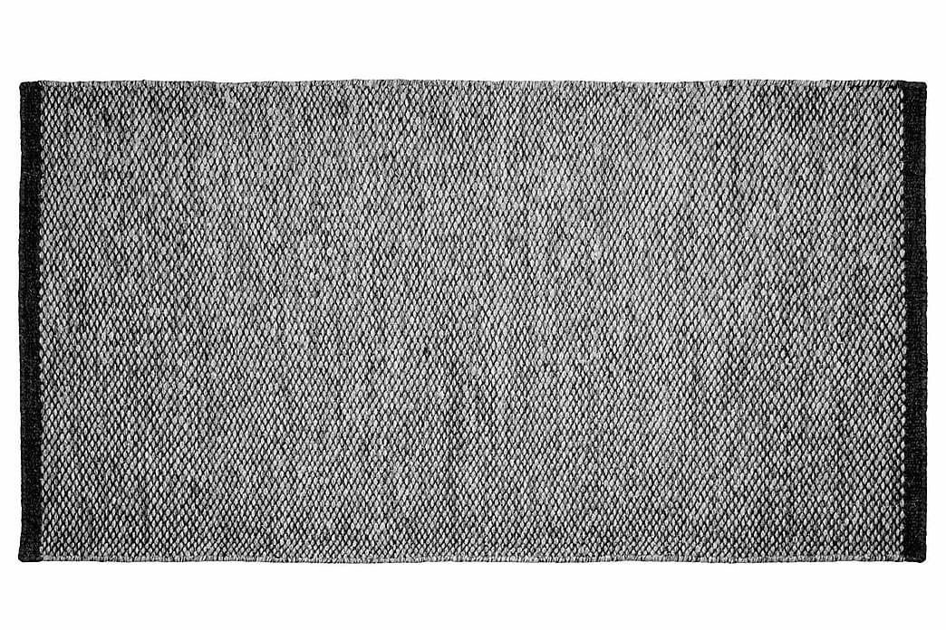 Ullmatta Seattle Handvävd 50x80  Antracit - InHouse Group - Inredning - Mattor - Ullmatta