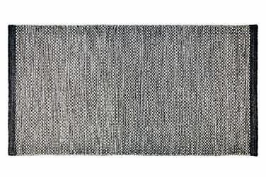 Ullmatta Seattle Handvävd 50x80  Grå