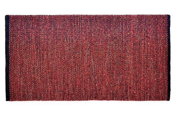 Ullmatta Seattle Handvävd 80x150  Röd - InHouse Group - Inredning - Mattor - Ullmatta