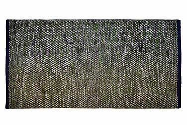 Ullmatta Seattle Handvävd 80x250  Grön