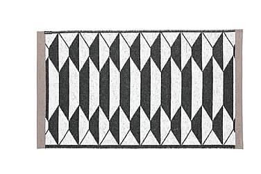 Plastmatta Floow B&W Urd 150x210 Vändbar PVC