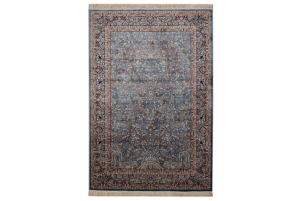 Viskosmatta Bizantine Kashmir 140x190 cm Blå - Vivace - Inredning - Mattor - Viskosmattor & konstsilkesmattor