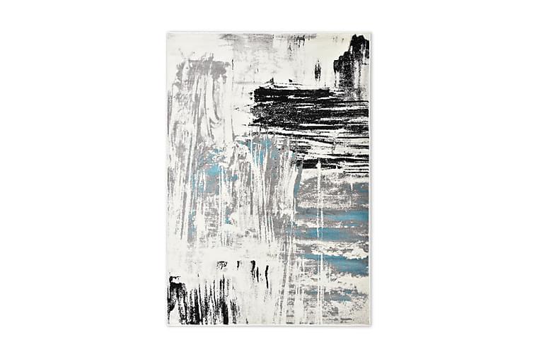 Matta blå 160x230 cm PP - Blå - Inredning - Mattor