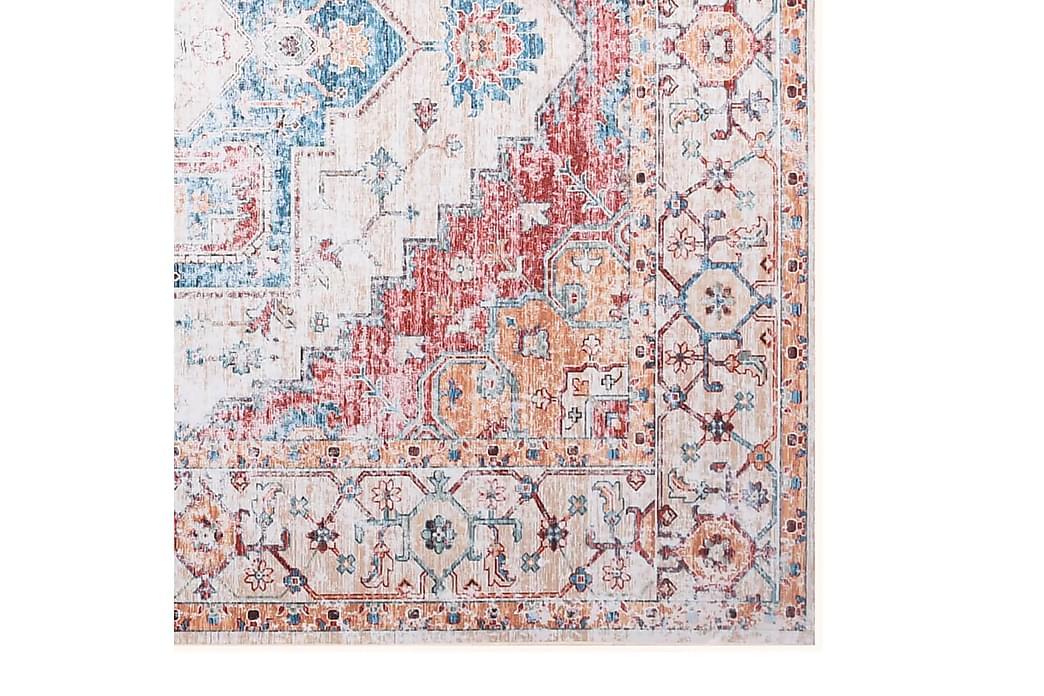 Matta flerfärgad 120x160 cm tyg - Flerfärgad - Inredning - Mattor