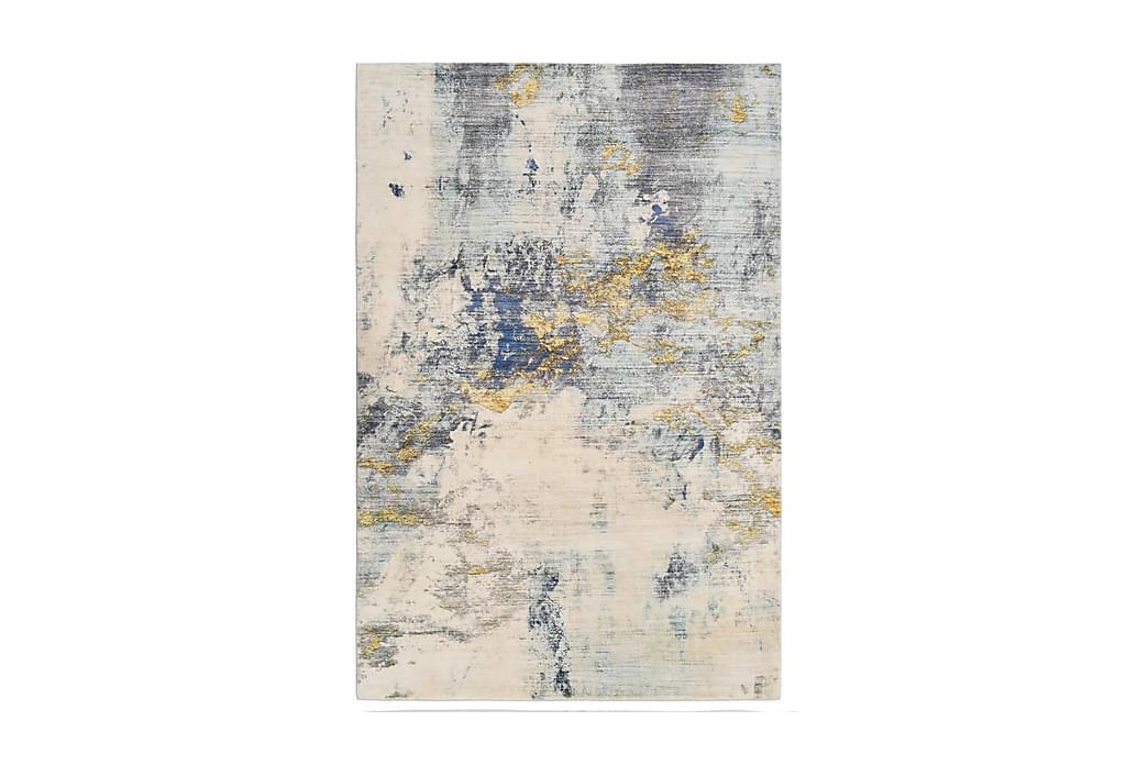 Matta flerfärgad 120x170 cm polyester - Flerfärgad - Inredning - Mattor