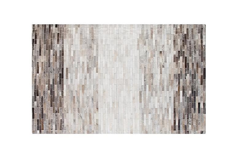 Matta Olivea 140x200 cm Läder - Brun - Inredning - Mattor