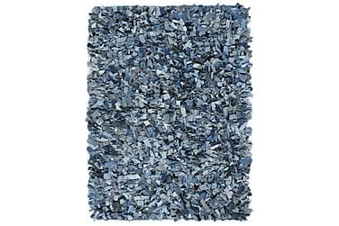 Shaggy-matta denim 160x230 blå