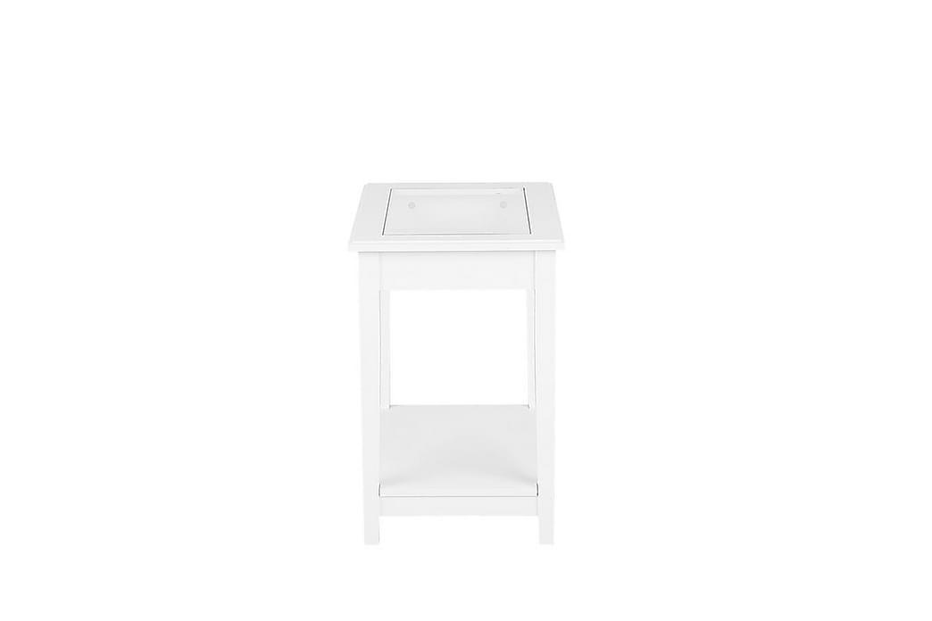 Sidobord Attu 57 cm - Vit - Inredning - Småmöbler - Brickbord & småbord