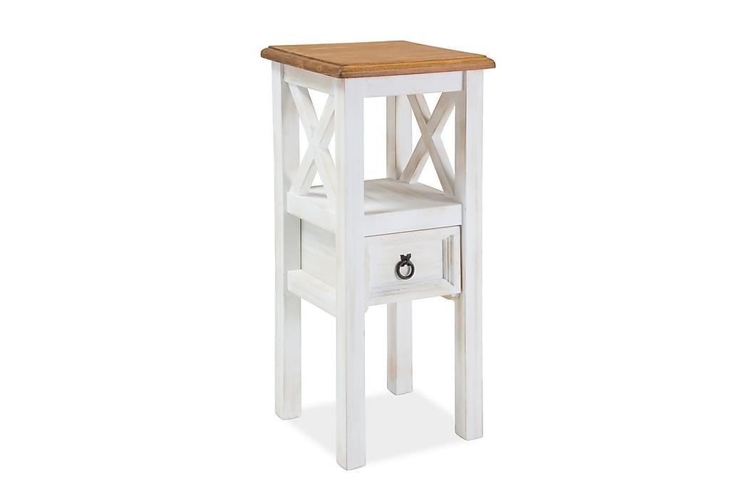 Sidobord Rakusy 34 cm Blombord - Brun/Furu - Inredning - Småmöbler - Brickbord & småbord
