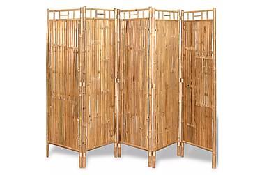 Rumsavdelare 5 paneler 200x160 cm