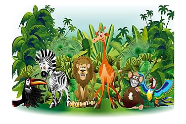 Fototapet Jungle Animals 200x140