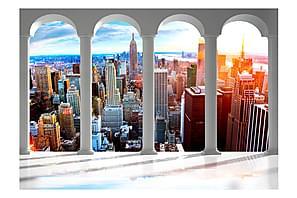 Fototapet Pillars And New York 300x210