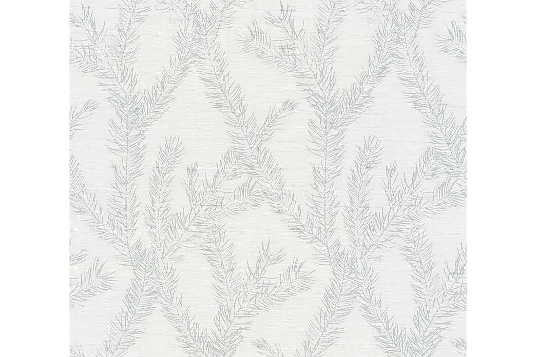 Gren Tapet Four Seasons Ovävd Silver - AS Creation - Inredning - Tapeter - Mönstrad tapet