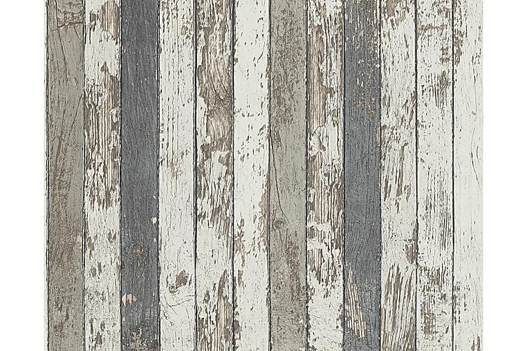 Wood effect Tapet Best of Wood`n Stone - AS Creation - Inredning - Tapeter - Mönstrad tapet