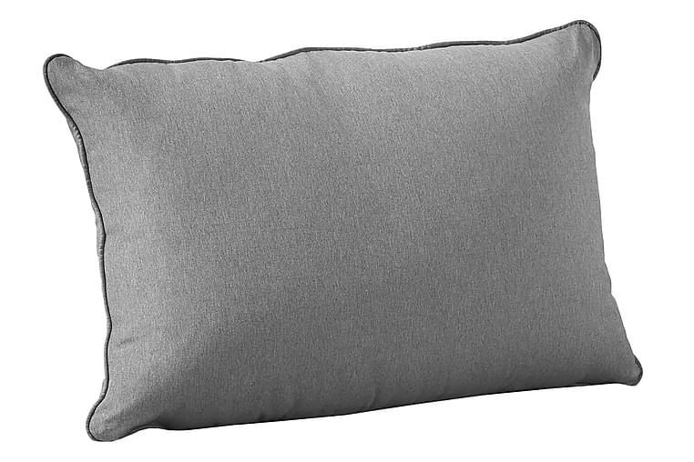 Ryggplymå Royal 70x45 cm - Grå - Inredning - Textilier - Övriga kuddar