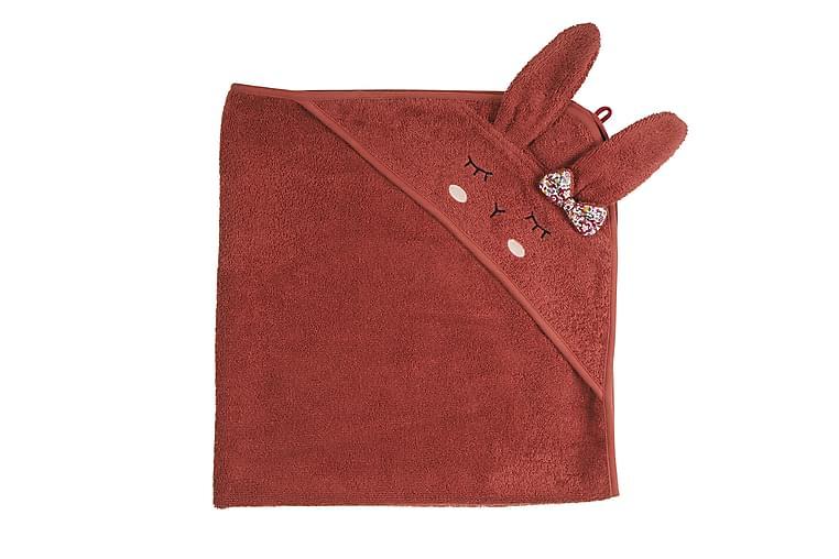 Badcape Kanin rost - Kikadu - Inredning - Textilier - Badrumstextilier