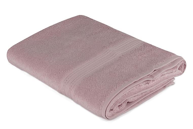 Badhandduk Hobby 70x140 cm - Rosa - Inredning - Textilier - Badrumstextilier