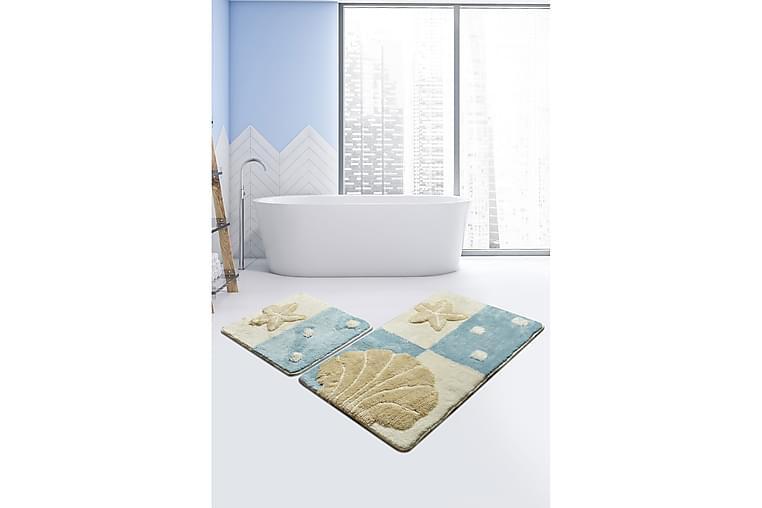 Badmatta Chilai Home Set om 2 - Flerfärgad - Inredning - Textilier - Badrumstextilier