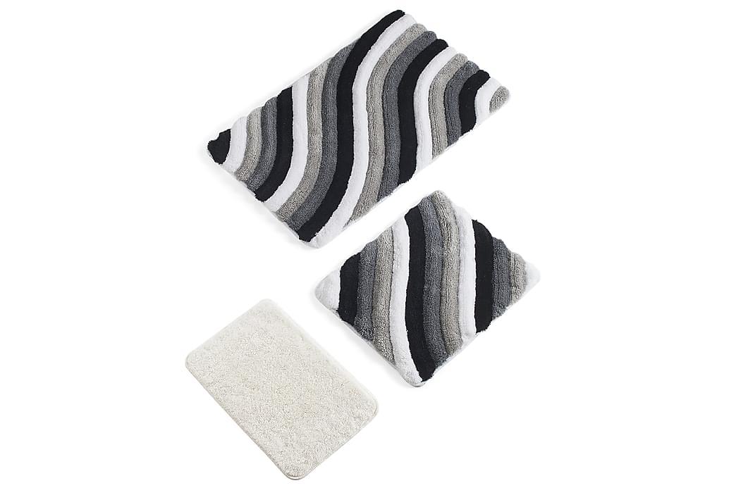 Badmatta Chilai Home Set om 3 - Flerfärgad - Inredning - Textilier - Badrumstextilier