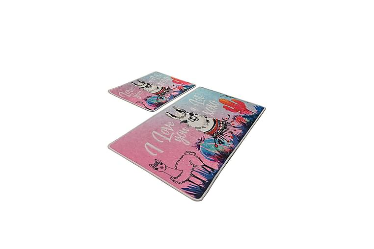Badrumsmatta Baray 2-pack - Flerfärgad - Inredning - Textilier - Badrumstextilier