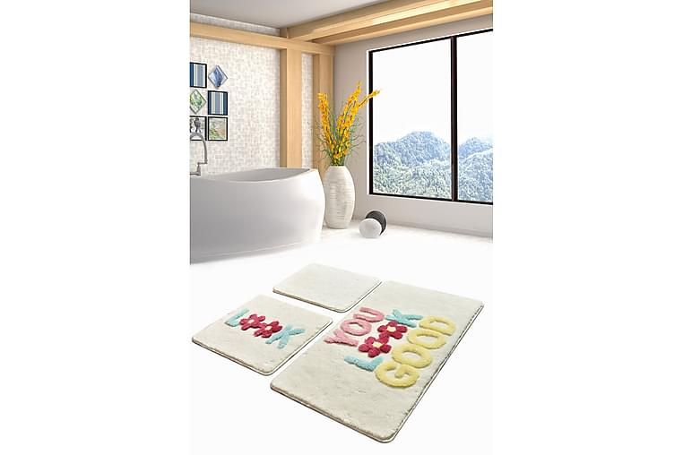 Badrumsmatta Baray 3-pack - Flerfärgad - Inredning - Textilier - Badrumstextilier