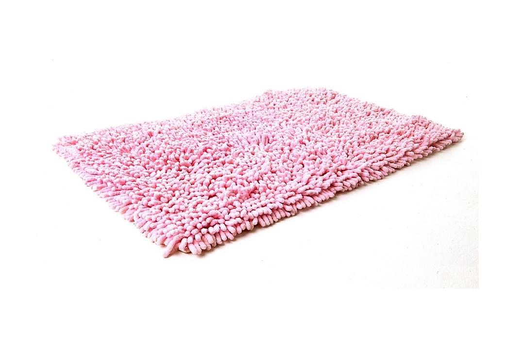 Bomullsmatta Rasta 70x120 Rosa - Etol - Inredning - Textilier - Badrumstextilier