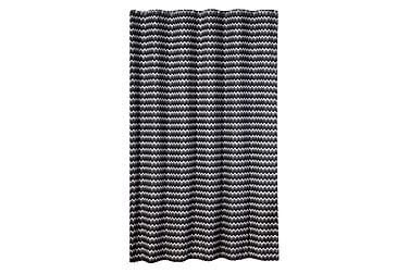 Duschdraperi Zigzag 180x200 cm