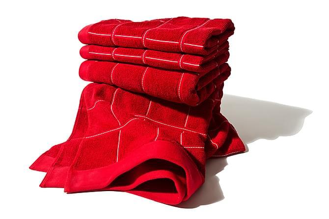 Frottéhandduk Lord Nelson Victory 70x50 cm - Röd - Inredning - Textilier - Badrumstextilier