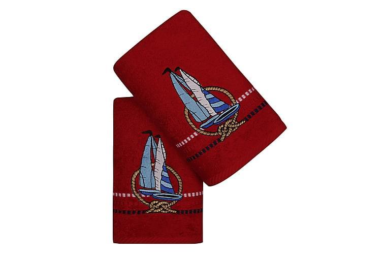 Handduk Hobby 50x90 cm 2-pack - Flerfärgad - Inredning - Textilier - Badrumstextilier