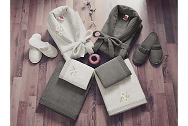 Handduksset Cotton Box Familj Set om 4