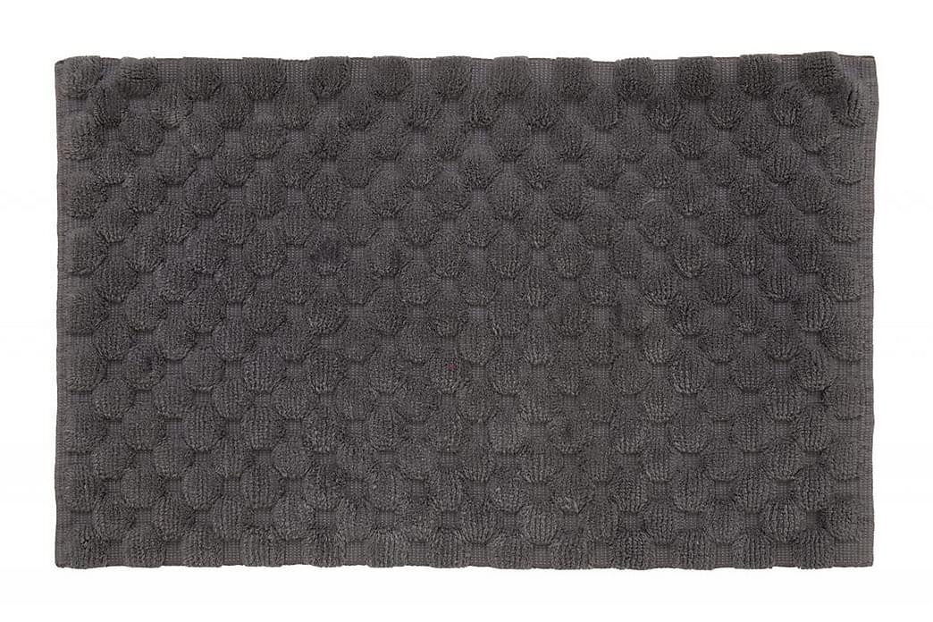 Matta Dot 100x60 Askgrå - Turiform - Inredning - Textilier - Badrumstextilier