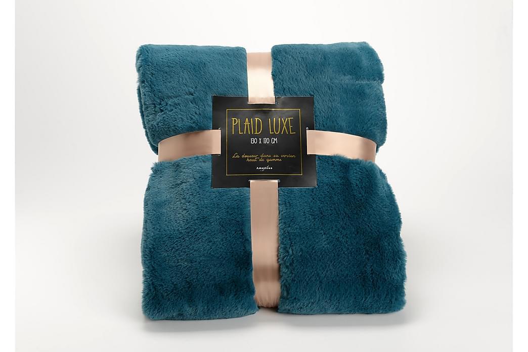 Pläd Borsna - Blå - Inredning - Textilier - Filtar & plädar