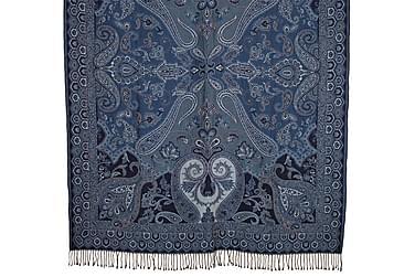 Pläd Byron 130x170 cm Blå