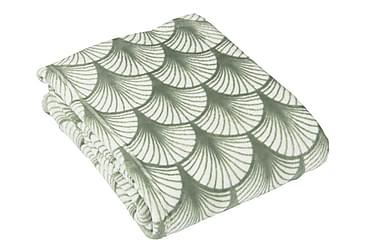 Pläd Laura 130x160 cm Grön