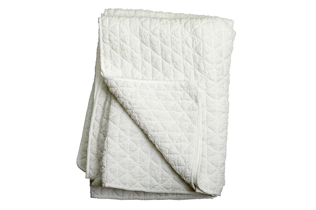 Pläd Leori Quiltad - Vit - Inredning - Textilier - Filtar & plädar