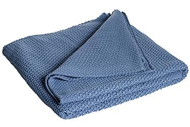 Pläd Moltas 170x130 cm Blå