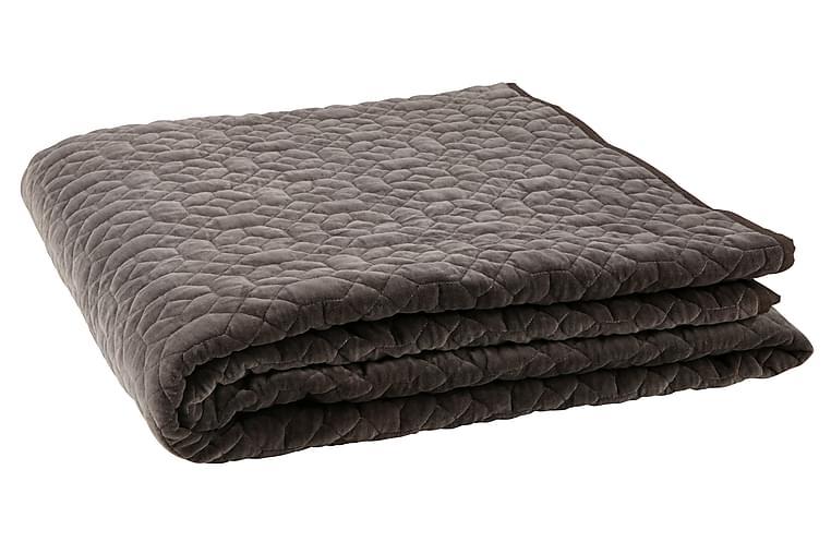 Pläd Rovetta 220x220 cm - Grön - Inredning - Textilier - Filtar & plädar