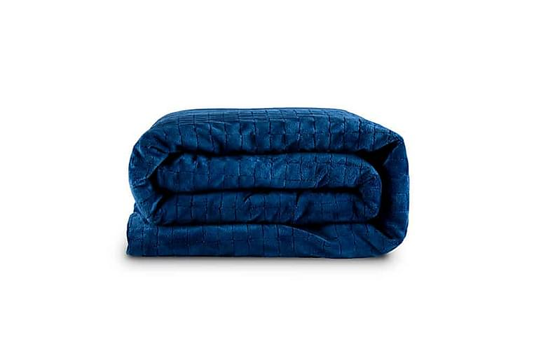 Tyngdfilt 135x200 cm 4 kg Mörkblå - Gravity Blanket - Inredning - Textilier - Filtar & plädar