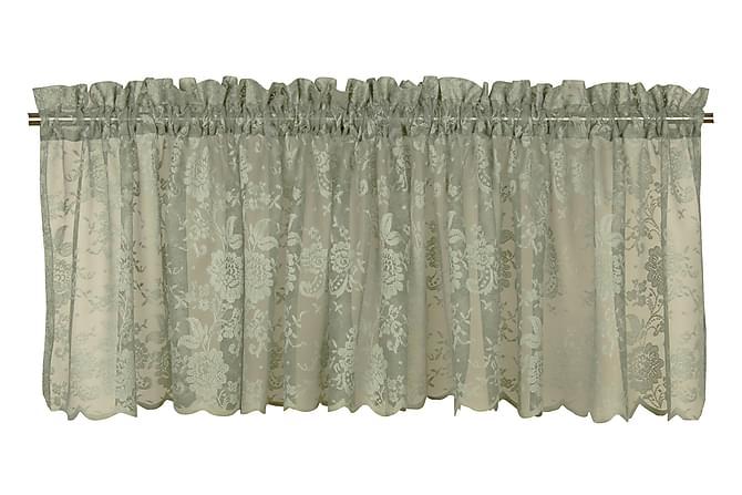 Gardinkappa Lucille 55x250 cm Grön - Fondaco - Inredning - Textilier - Gardiner