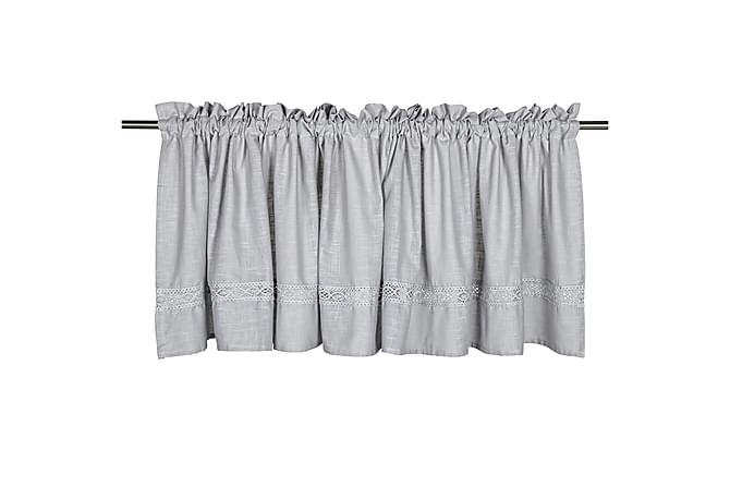 Gardinkappa Sanna 55x250 cm Grå - Fondaco - Inredning - Textilier - Gardiner