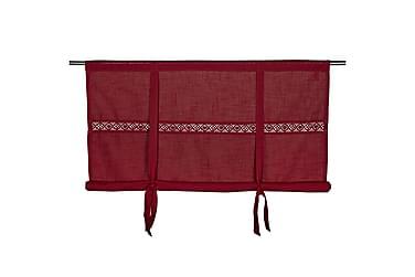 Hissgardin Sanna 140x120 cm Röd